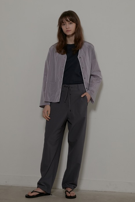 STRING TROUSER - GREY