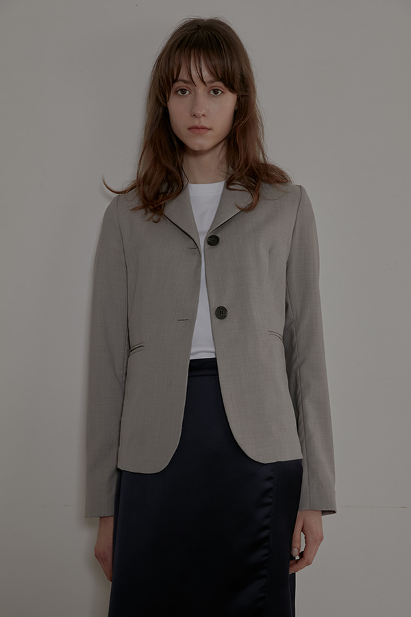 STANDARD SHORT JACKET - GREY
