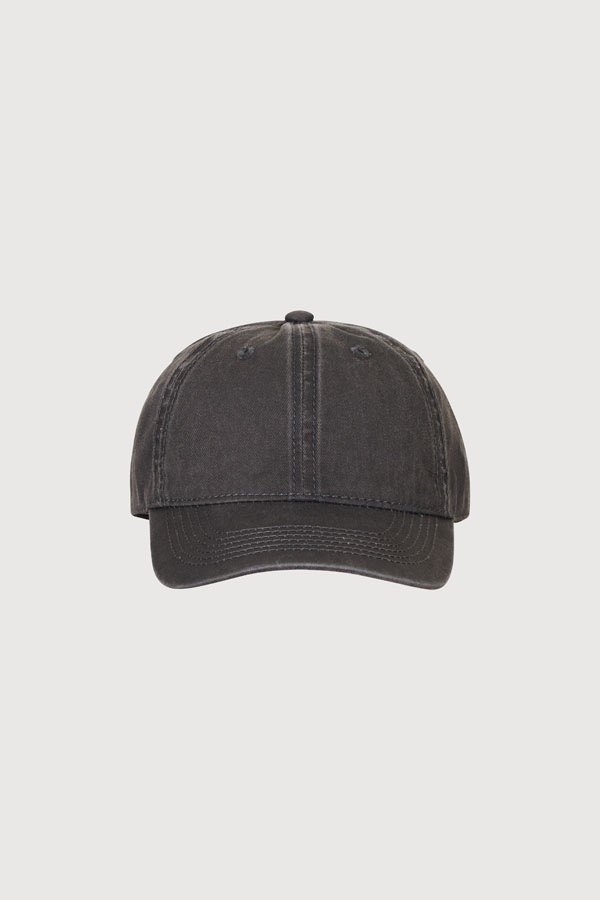 GRID SEOUL SIGNATURE LOGO BALL CAP - WASHING GRAY