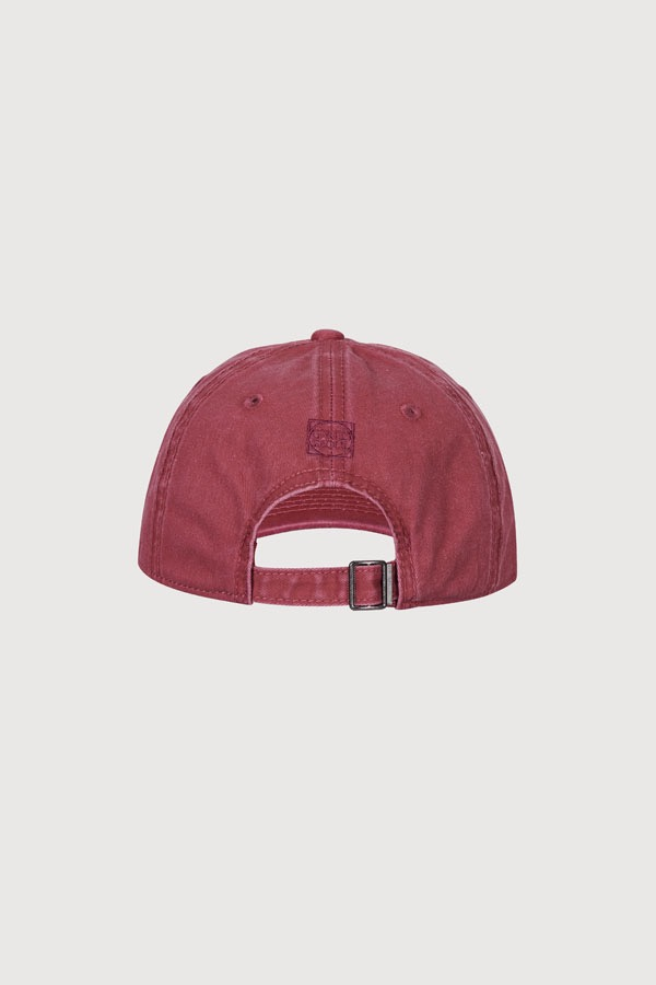 GRID SEOUL SIGNATURE LOGO BALL CAP - WASHING PINK